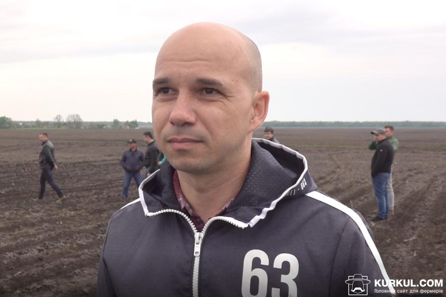 Олександр Онищенко, головний інженер групи компаній «Нива Переяславщини»
