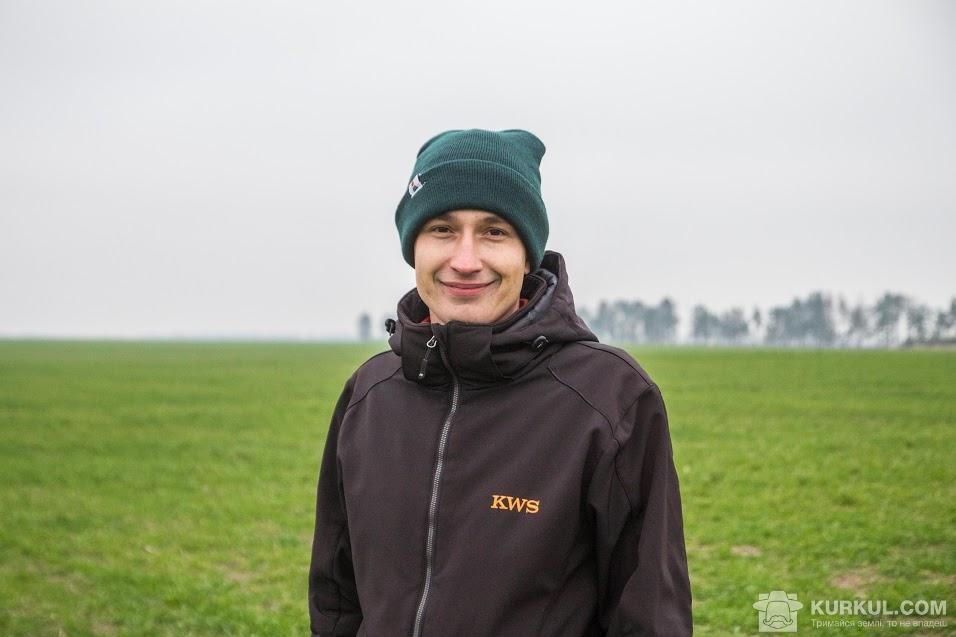 Руслан Круподеря, торговий представник із зернових культур компанії «КВС-УКРАЇНА»
