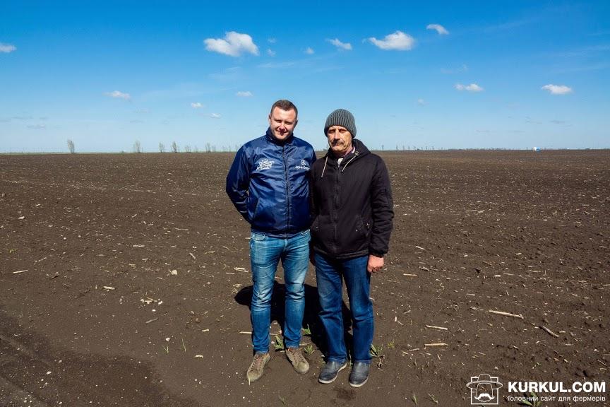 Ліворуч: Віталій Терещенко, менеджер «Агротек», праворуч: Микола Азаров, керівник «Продексім»