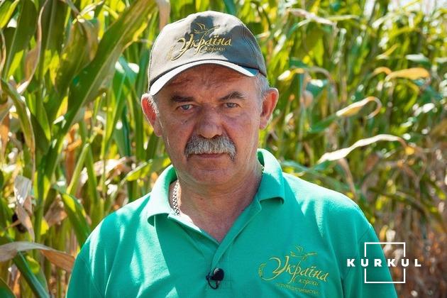 Ярослав Господарський, головний агроном господарства «Україна»