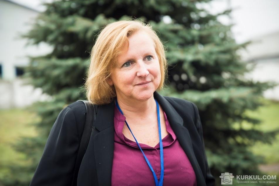 Перший секретар Посольства Великої Британії в Україні Кеті Коттрелл