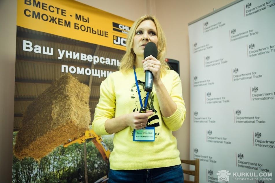 Менеджер ТОВ СП «Агроінмаш» Орина Басянець