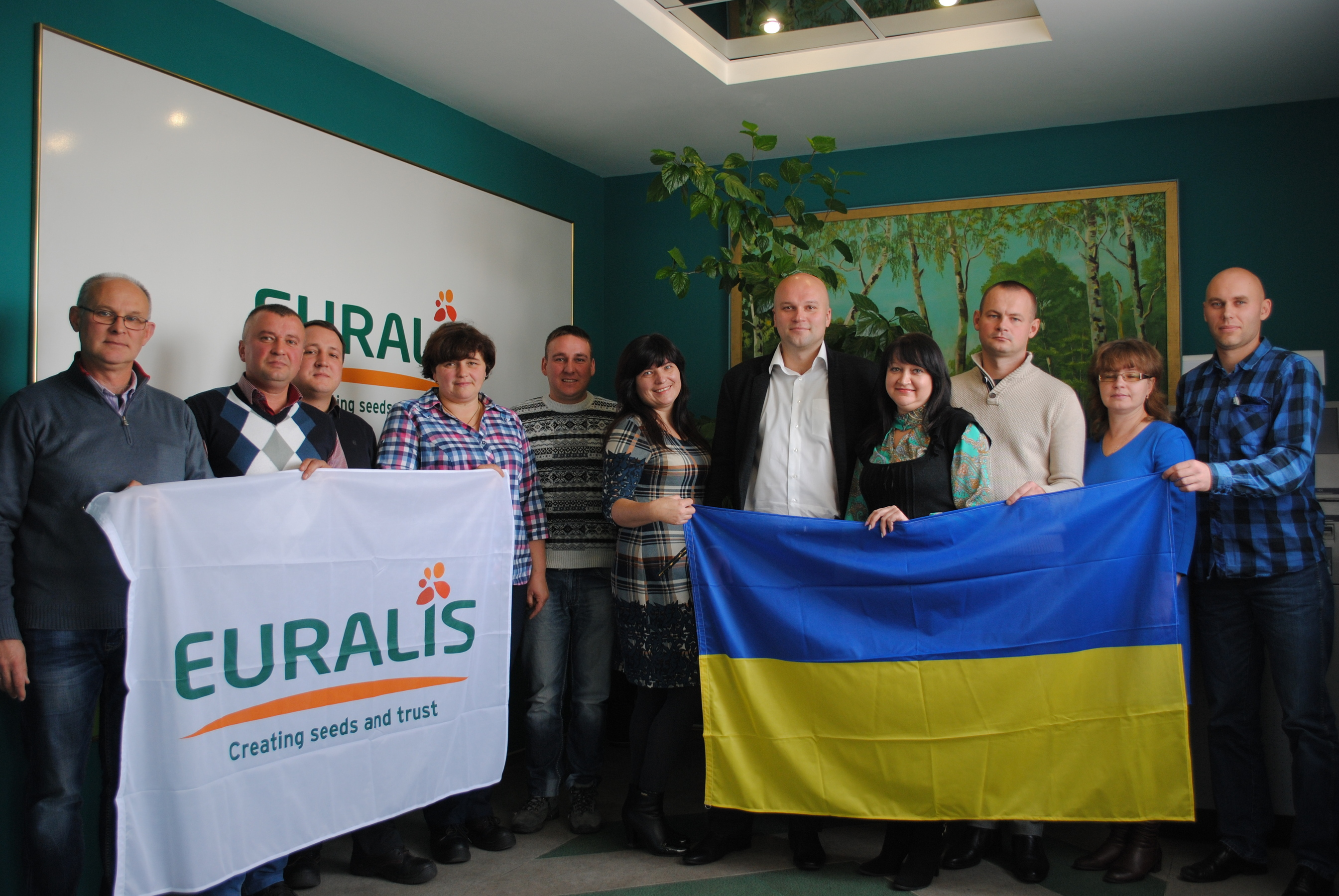 Колектив заводу «Євраліс Семенс Україна»