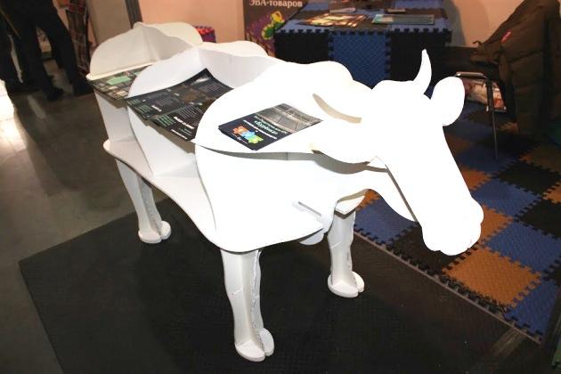 Модель корови на ЕВА-маті від Evaline