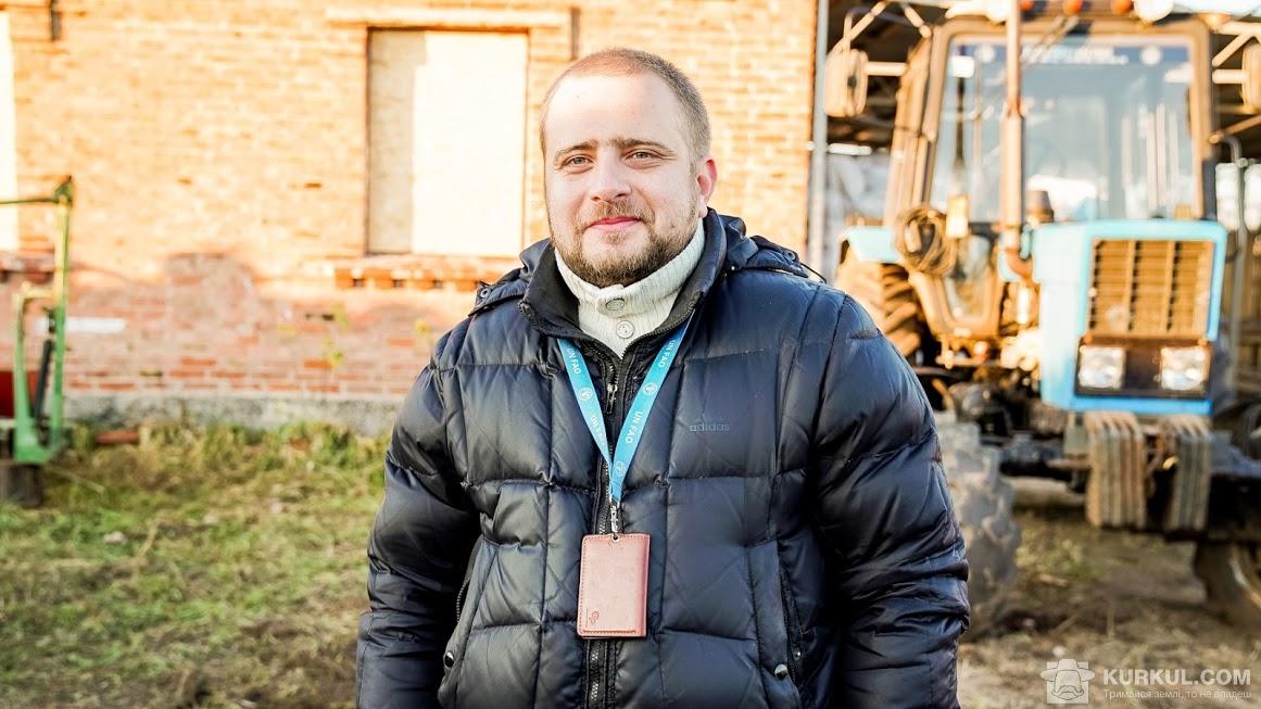 Андрій Волков, офіцер польового офісу ФАО у Краматорську