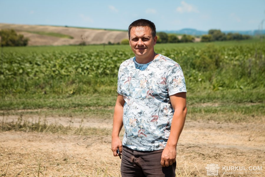 Олександр Бондар, директор господарства «Людвіг-Агро» — відділку Агро-Еко ХХІ в Чернівецькій області