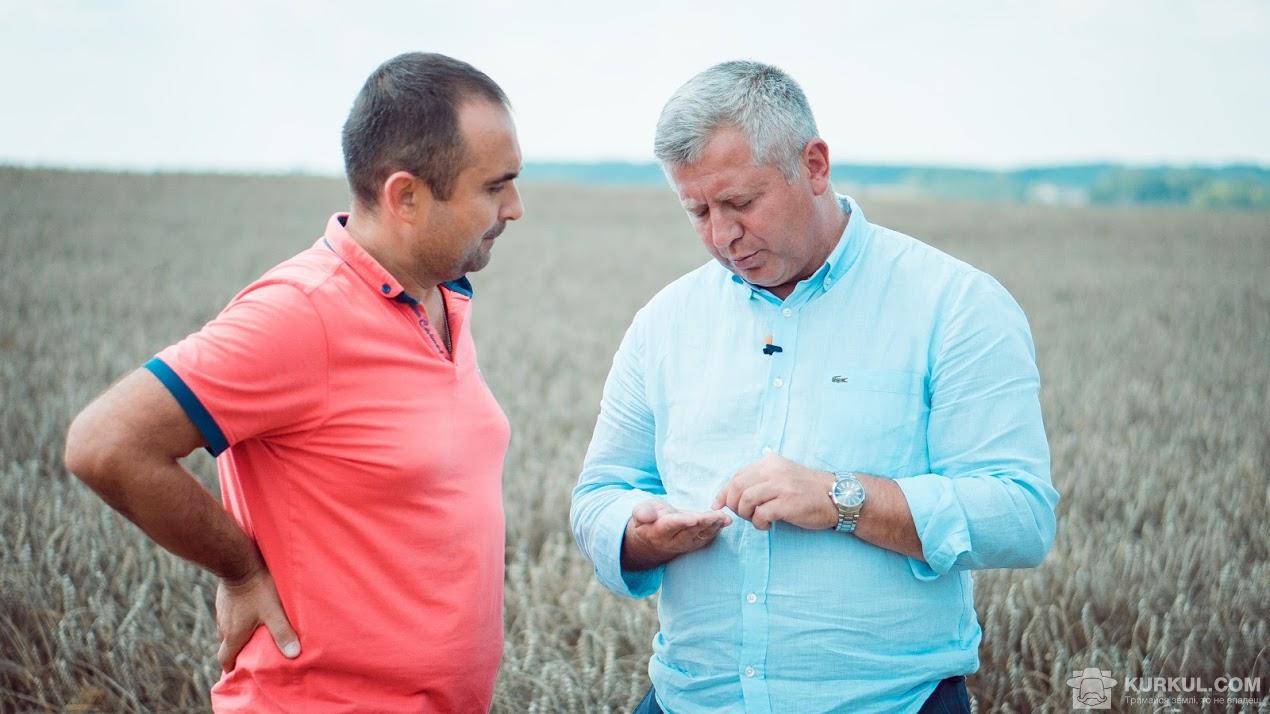 Віктор Васьков і Зигмунд Лампка (з ліва на право)