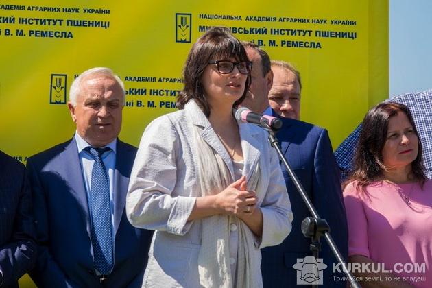 Виступ Заступникаа міністра аграрної політики та продовольства України Олени Ковальової