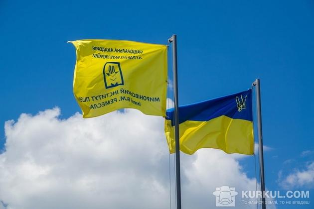 Прапор України та інституту