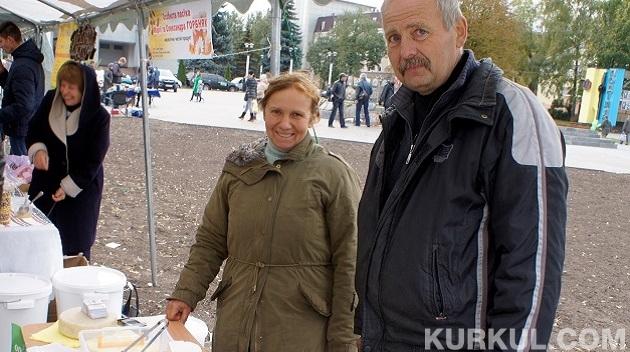 Фермер з дружиною