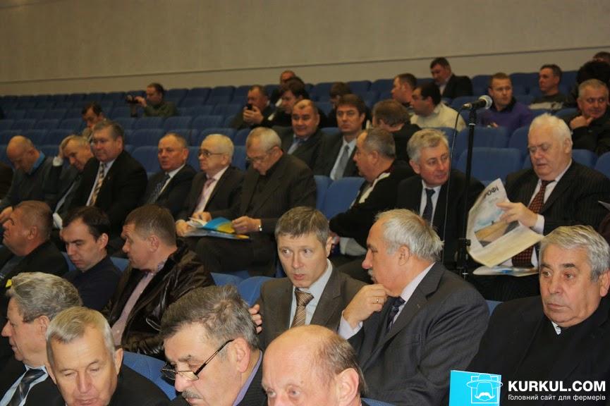 Учасники «Першого всеукраїнського Форуму фермерів та приватних землевласників»