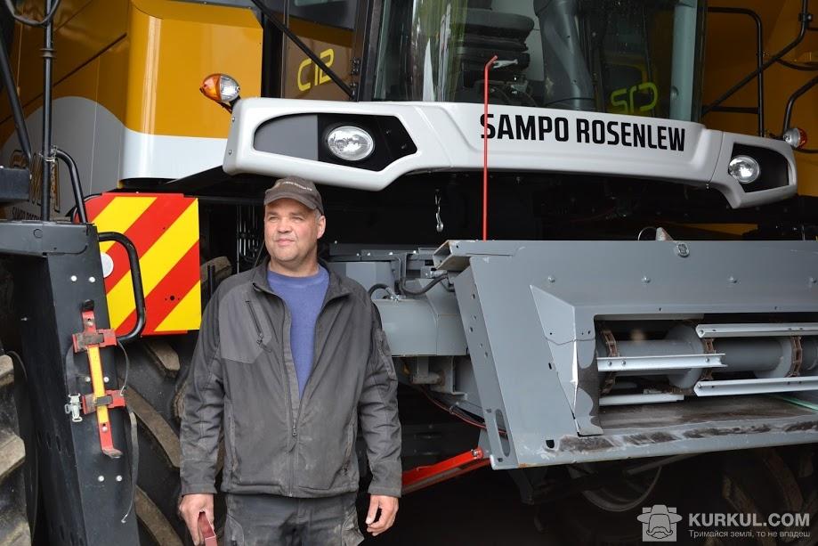 Юкка Рустедт і його комбайни Sampo