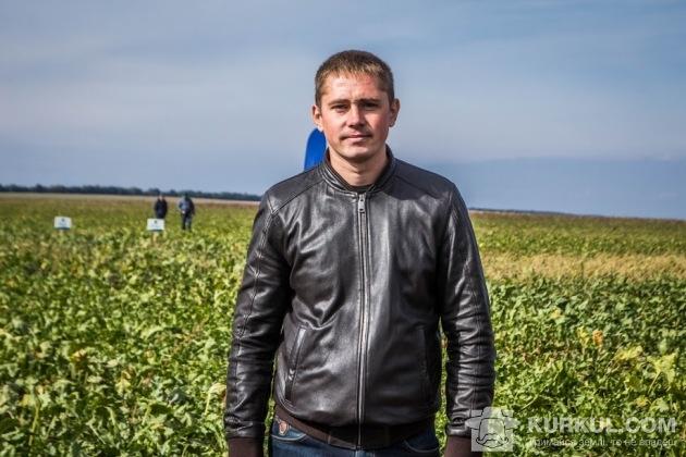 Вадим Лозінський, агроном із захисту рослин ПСП «Кристал»