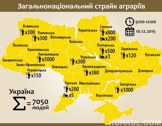Карта страйку