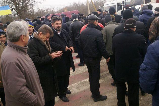 Серед мітингуючих на Запоріжчині був і Геннадій Новіков