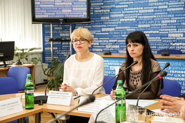 Наталія Чернюк (з права) та Наталія Головань