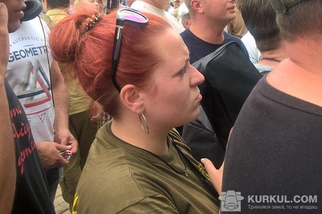 Ольга Воліна, віче фермерів