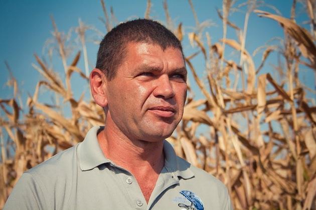 Андрій Біба, фермер, керівник ФГ «Колос»