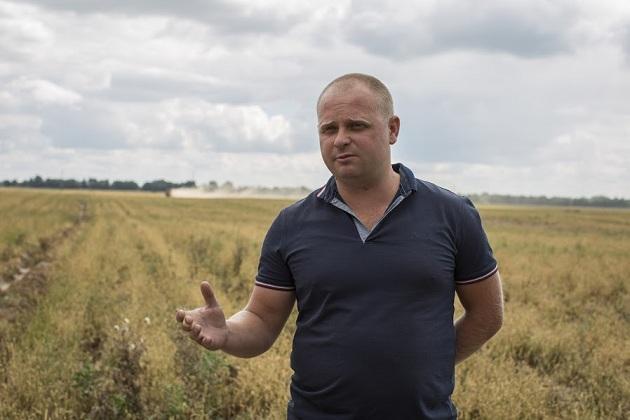 Максим Шалигін, фермер, виконавчий директор господаства «Південь-Північ»