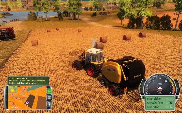 Інтерфейс гри Professional Farmer