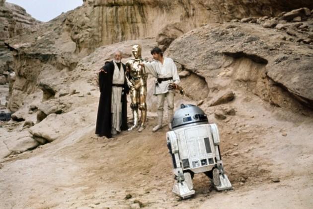 Кадр з фільму Зоряні війни