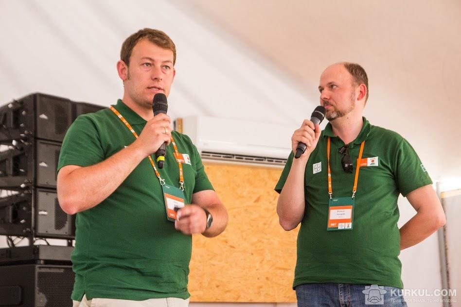 Єнс Лоель і Андрій Новак (з ліва на право)