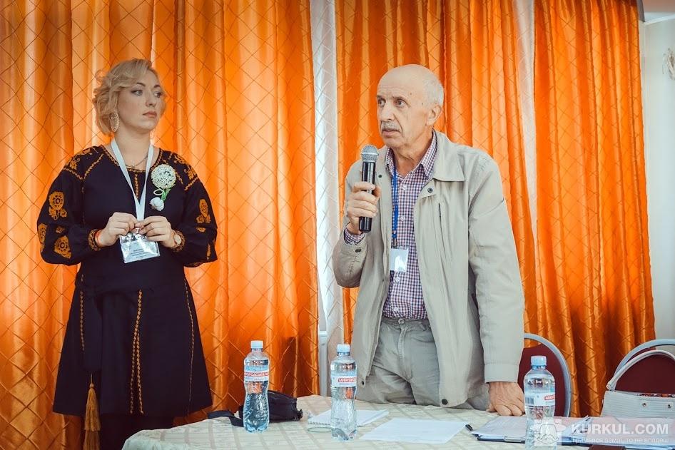 Зеновій Сич та Ганна Морозова