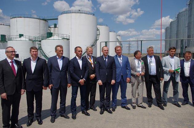 Відкриття олійно-екстракційного заводу Allseeds Black Sea