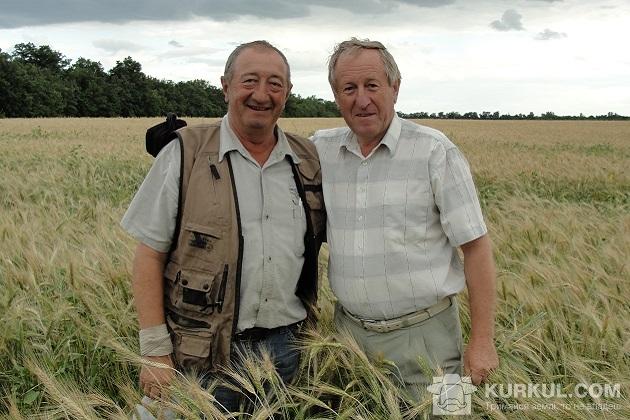 Станіслав Лобач і Віктор Рябчун (з ліва на право)