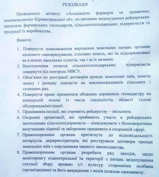 Резолюція