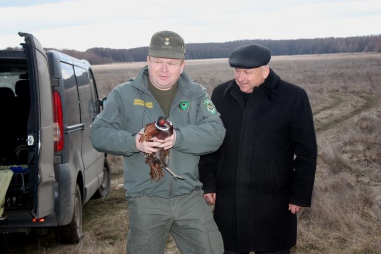 Директор вольєрного господарства Олександр Подоляка