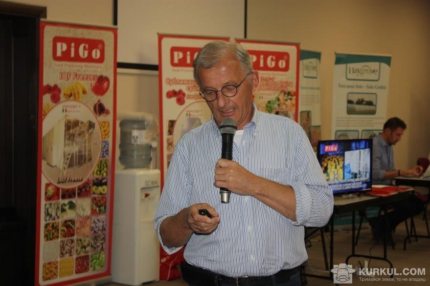 Петер ван Аркель, міжнародний експерт із садівництва